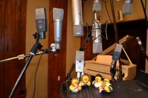Even rubber ducks need a Vintage Telefunken U47 !