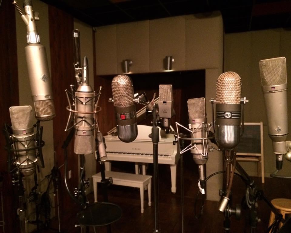 Historic REEL TO REEL analog recording studio